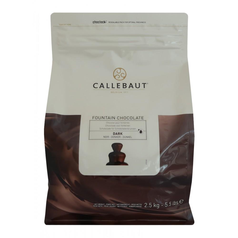 Hořká čokoláda do fontány Callebaut 2,5 kg